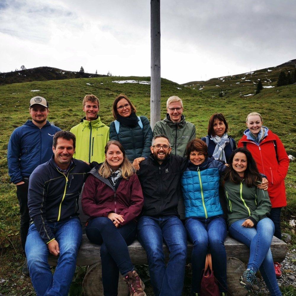 Team-Ausflug Teamfoto