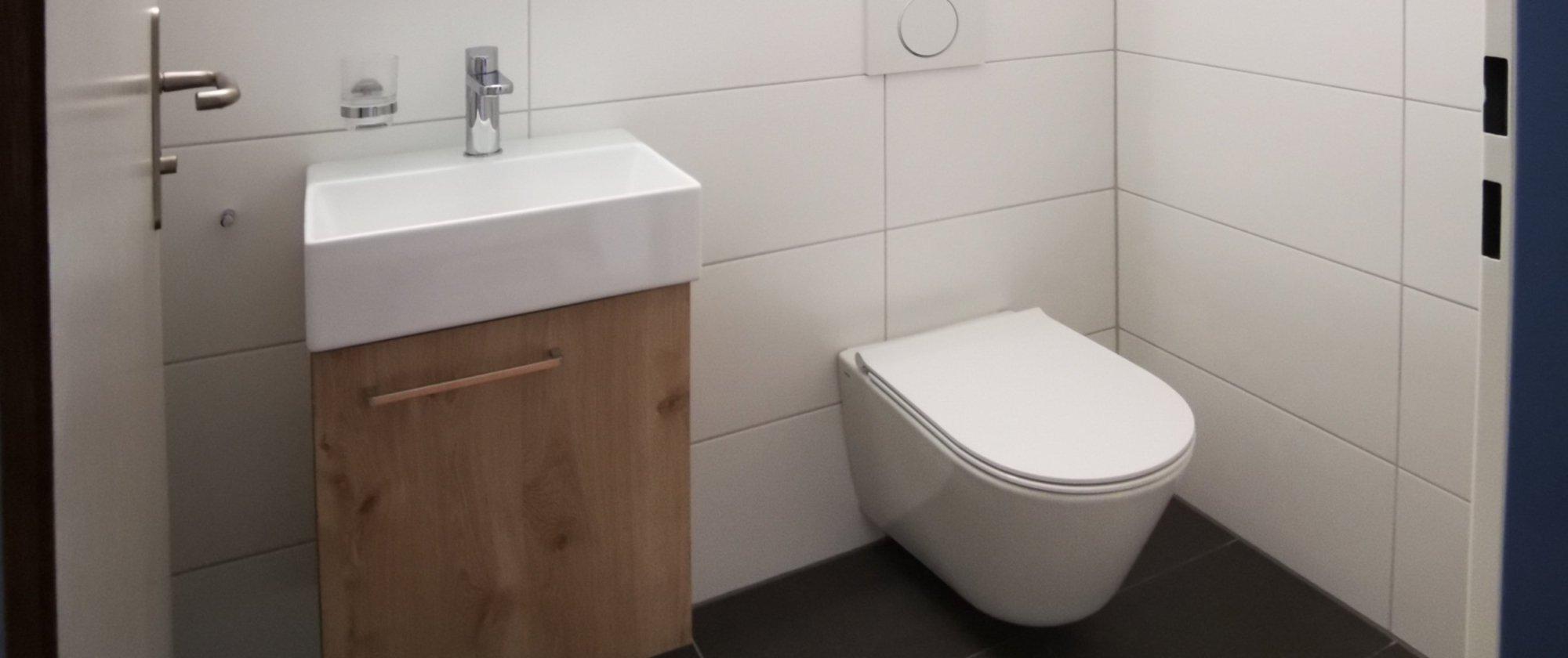 Neues Gäste-WC